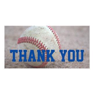 Baseball Personalized Photo Card