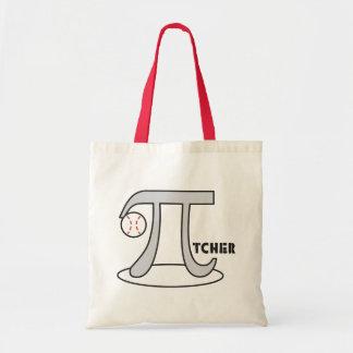Baseball Pi-tcher Bag - Funny Pi Day Gift