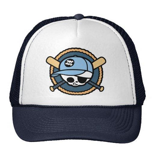 Baseball Pirate -Boys Trucker Hats