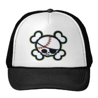 Baseball Pirate -kids Cap