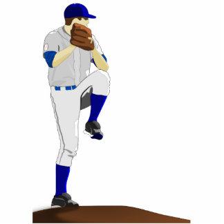 Baseball Pitcher Photosculpture Standing Photo Sculpture