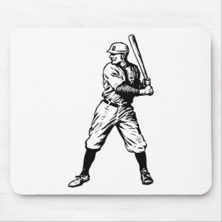 Baseball Player 1915 Mousepads