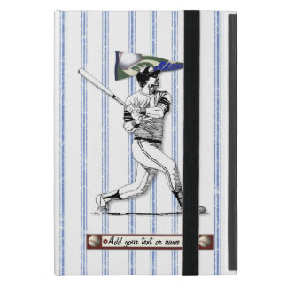 Baseball Player and Pennant Case For iPad Mini