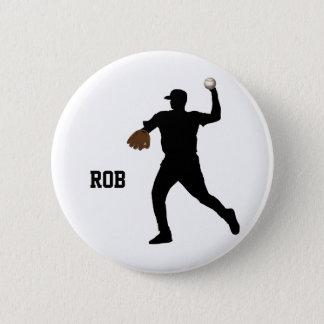baseball player  badge