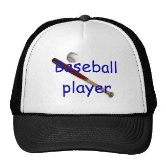 Baseball player hat