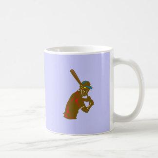 Baseball player more player coffee mugs