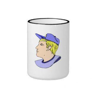 Baseball Player Coffee Mugs