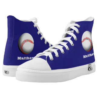 Baseball Player Personalized Printed Shoes