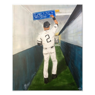 Baseball Player Photo Art