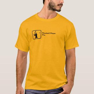 Baseball Player Pro (small logo) T-Shirt
