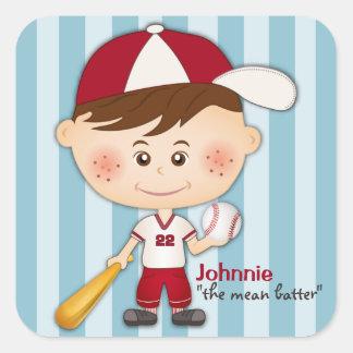 Baseball Player Sports Stickers