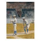 Baseball Players practising - Thomas Eakins Postcard