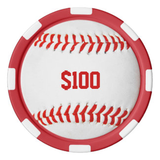 Baseball Poker Chip