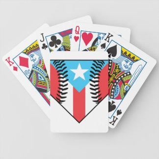 Baseball Puerto Rico Poker Deck