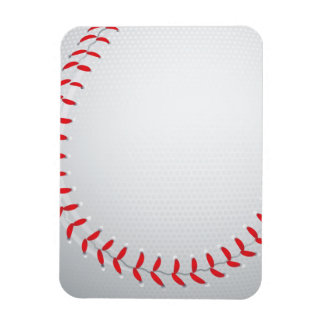 Baseball Rectangular Photo Magnet