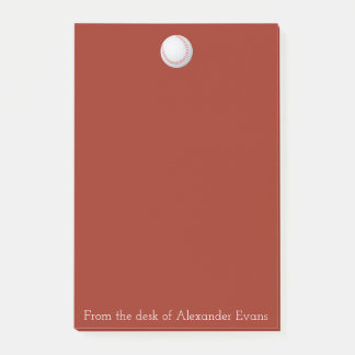 Baseball Red Post-it Notes