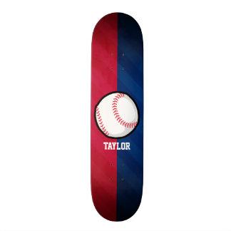 Baseball; Red, White, and Blue Skate Decks