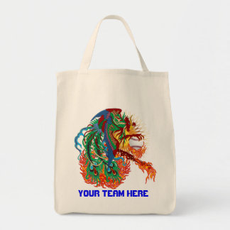Baseball  Rise Again!  Think you can? Grocery Tote Bag