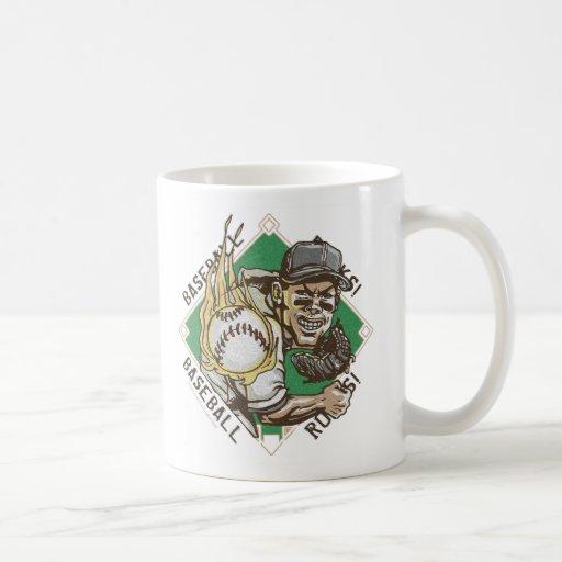 Baseball Rocks Pitcher Mug
