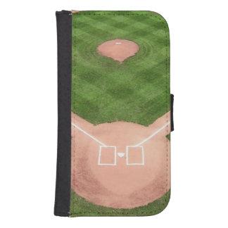 Baseball Samsung S4 Wallet Case