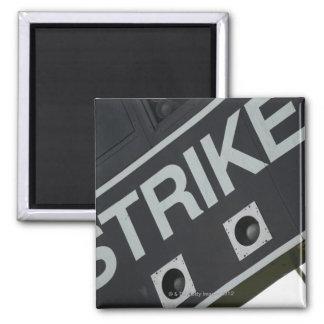 Baseball scoreboard 3 square magnet