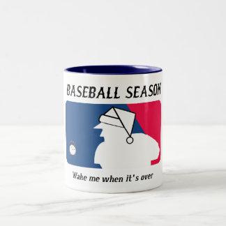 Baseball Season Two-Tone Mug