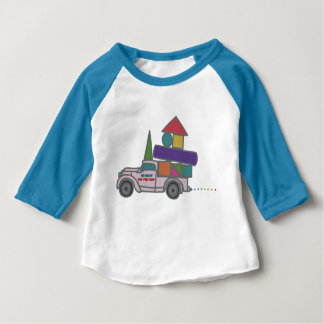 Baseball shirt for Truck baby's baseball shirts