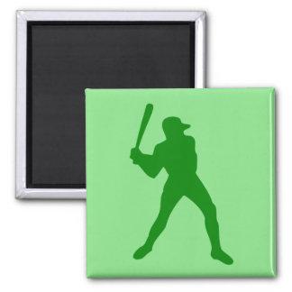 baseball silhouette magnet
