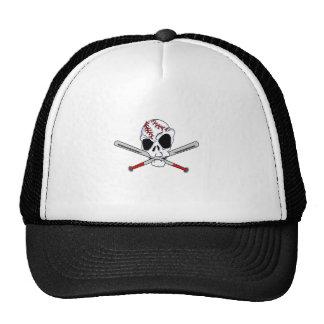 baseball skull cap
