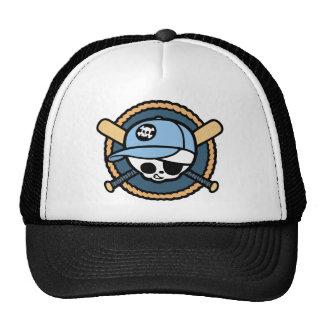 Baseball Skull & Crossbats -boys Cap