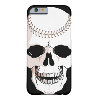 baseball skull head barely there iPhone 6 case