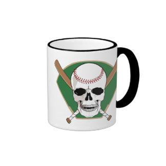 Baseball Skull mug