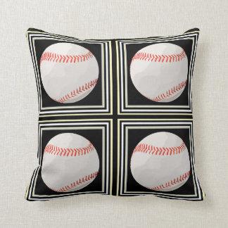 Baseball/ Softall Tile Throw Pillows