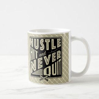 Baseball Softball Hustle, Hit And Never Quit Mug