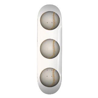 Baseball / Softball w/Orange Stitching Skateboard Decks