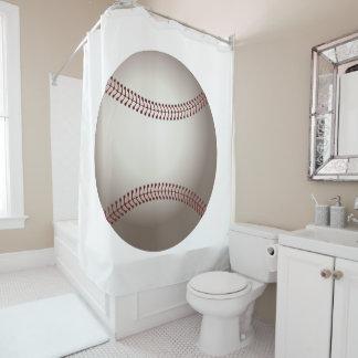 Baseball Sports Design Shower Curtain