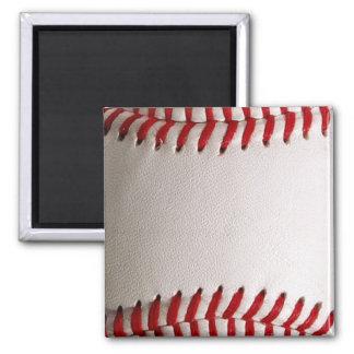 Baseball Sports Square Magnet