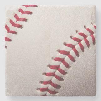 Baseball Sports Template Personalized Baseballs Stone Coaster