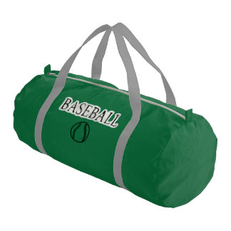 Baseball Sports Theme Gym Duffel Bag