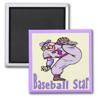 Baseball Star Magnet