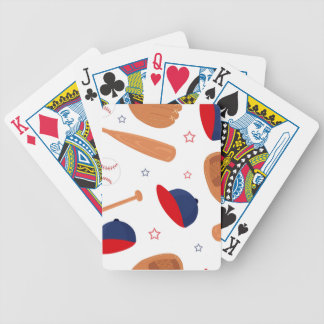 Baseball Star Pattern Bicycle Playing Cards