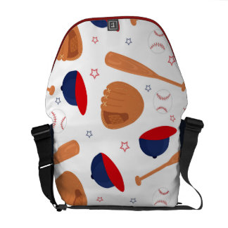 Baseball Star Pattern Commuter Bags