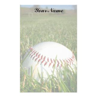 Baseball stationary stationery paper