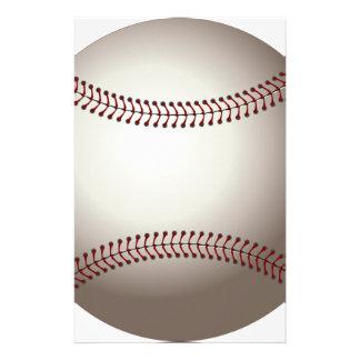 Baseball Stationery