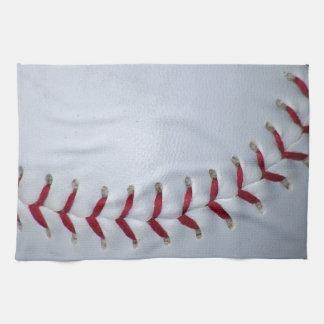 Baseball Stitches Tea Towel