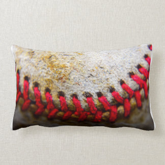 Baseball stitching lumbar pillow