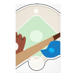 Baseball Stuff Stationery