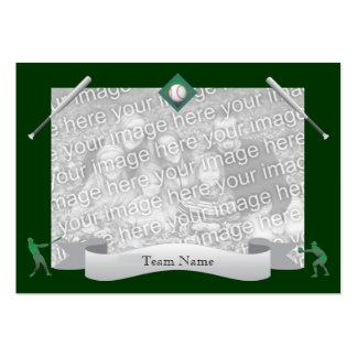 Baseball Team Card Business Card Template