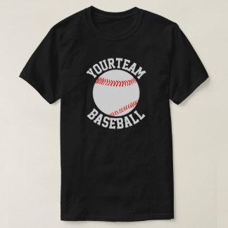 Baseball Team, Player & Jersey Number Men's Shirt