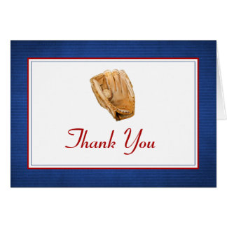 Baseball Thank You Note Card